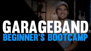 GarageBand Tutorial - Beginner's Bootcamp (10 Steps To Make Your First Song)