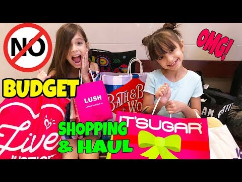 NO BUDGET Shopping Challenge and SUPER HAUL 2018!