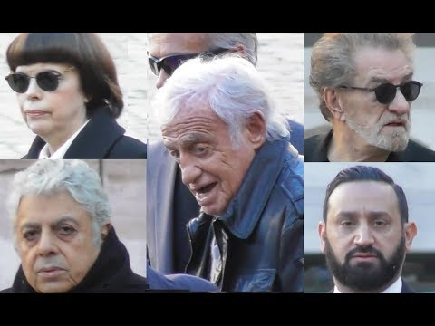 Eddy Mitchell, Mireille Mathieu, Jean Paul Belmondo etc @ hommage Charles Aznavour le 5 octobre 2018