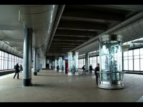 """Москва станция """"Воробьёвы горы"""" Moscow station """"Vorobyovy Gory"""""""