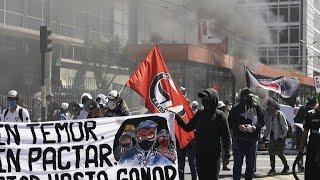 Protestas en Ecuador por medidas del gobierno en medio de la pandemia | AFP