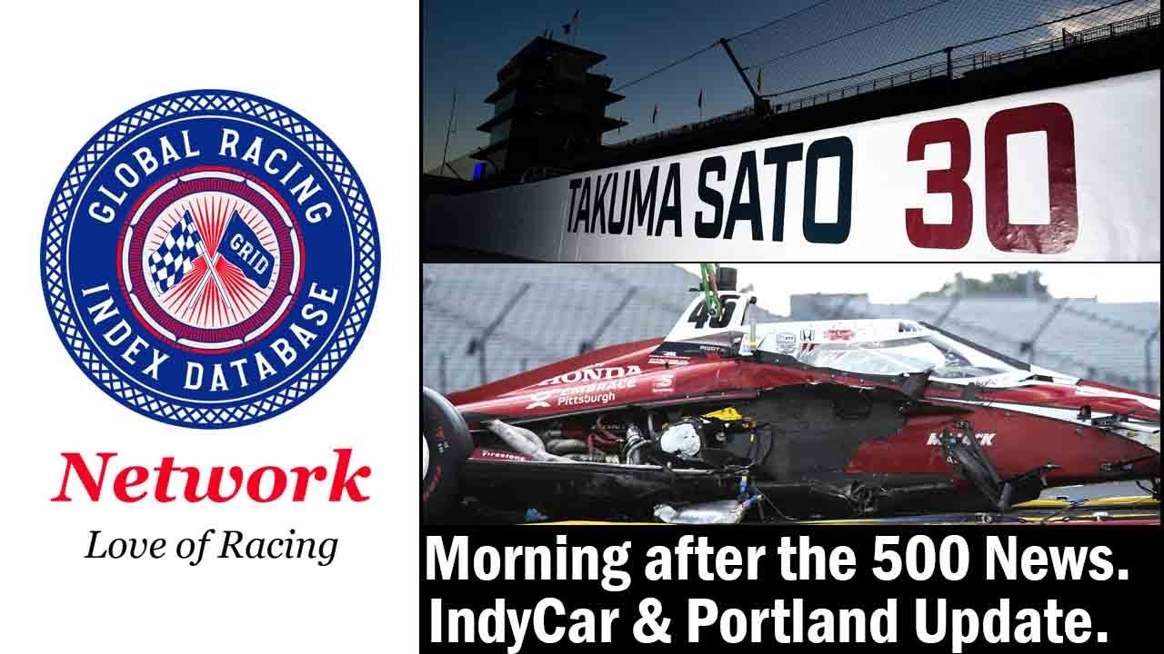 GRID News Update: Morning after the 500