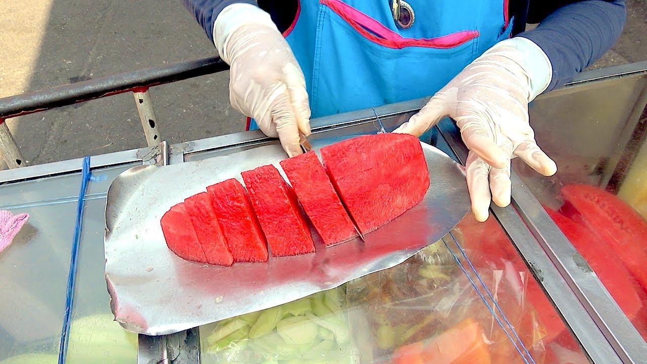 6 FRUITS CUTTING - STREET FOOD