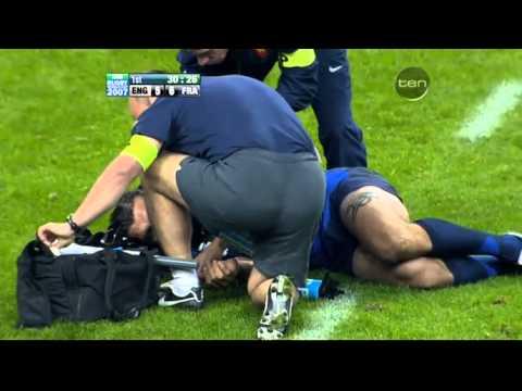 Rugby 2007. Semifinal. England v France