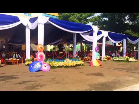 Sambutan Wali Kota Depok Idris di upacara peringatan HUT ke 18 Depok