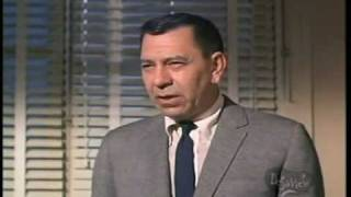 Jack Webb Dragnet - The Big Departure Speech