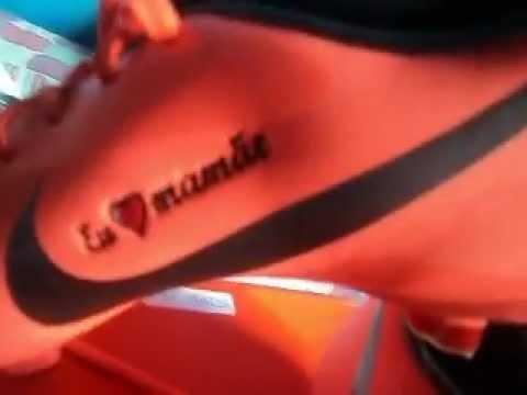 Unboxing Chuteira Nike Mercurial Glide III FG Salmão - YouTube e84e2ad73d19e
