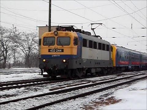 432 244 indul Leányka InterCity-vel Vámosgyörkről Budapest-Keleti felé