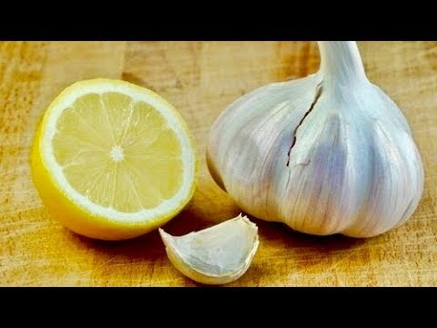 Eat Lemon Mixed With Garlic For 7 Days, THIS Will Happen To Your Body!