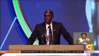 Eliud Kipchoge feted for exceptional achievement