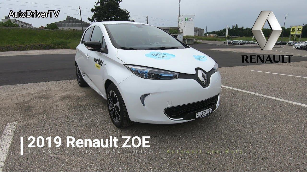 Renault Zoe Test >> 2019 Renault Zoe R110 Pov Test Drive Autodrivertv
