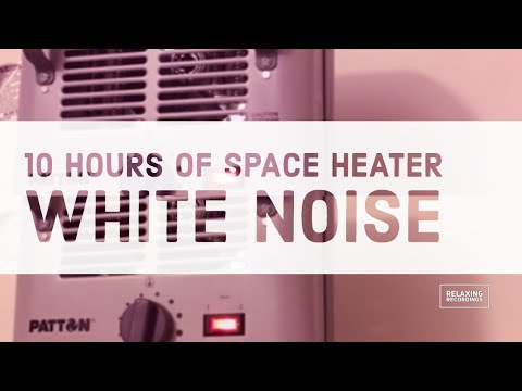 10 hours of space heater sounds