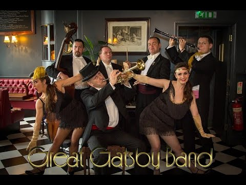 1920's Great Gatsby band for hire www.steppin-out.co.uk