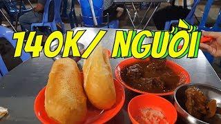 TỦI THÂN khi Ăn Musa cà ri dê Ấn Độ 1 mình | Guide Saigon Food