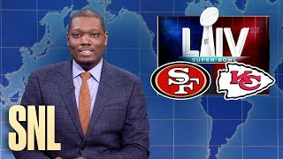Weekend Update: Harvey Weinstein's Trial & Super Bowl LIV - SNL