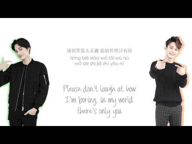 EXO - Sing For You (????) Chinese Ver. (Color Coded Lyrics Chinese/PinYin/Eng)