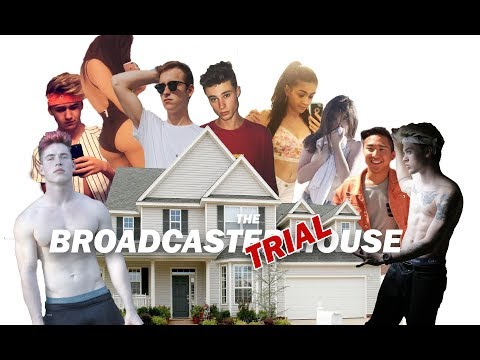 WELCOME TO THE BROADCASTER TRIAL HOUSE | Episode 1