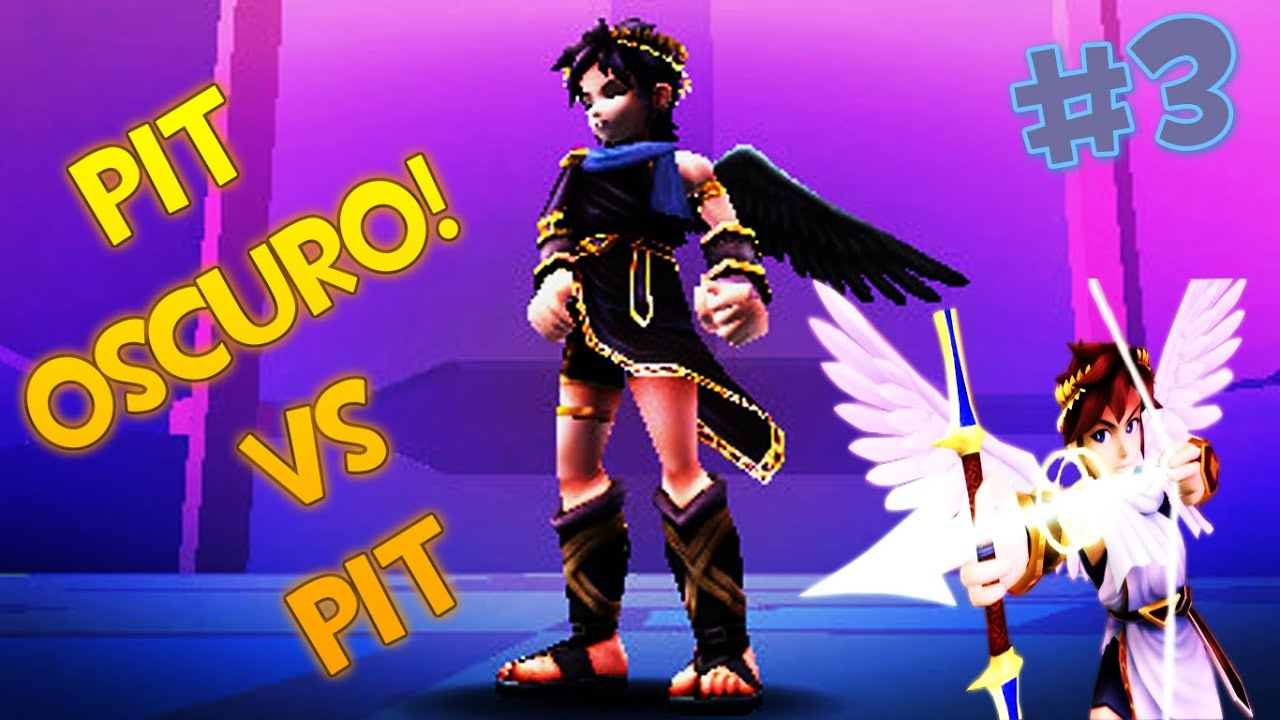 Kid Icarus Uprising Ep 3pit Oscuro Vs Pit