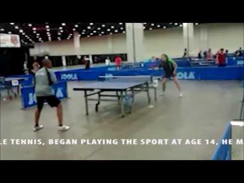 Dennis Cobb Jr  Table Tennis Prodigy # 2