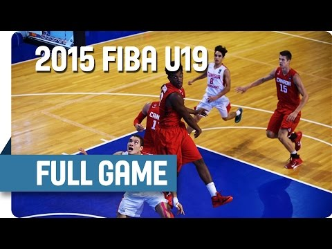 Tunisia v Canada - Group C - Full Game - 2015 FIBA U19 World Championship