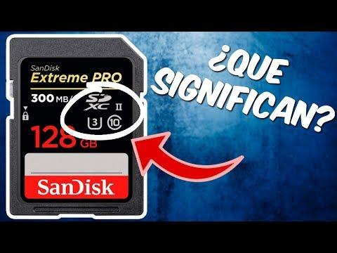 Memorias SD, SDHC O SDXC Para Foto Y Video - Que Memoria Comprar Y Que Significan Los Simbolos