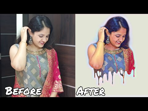Dripping Effect | PicsArt Editing |Editing Tutorial | Simply Edit |