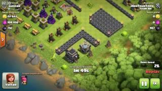 Farm de elixir negro no cv7 - Clash Of Clans