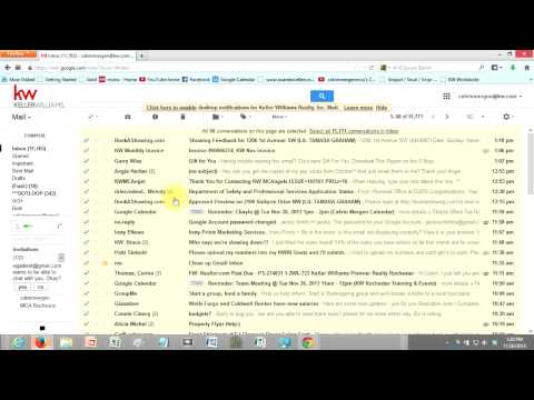 I want to clean up my GMAIL Inbox, how can I do that easily?
