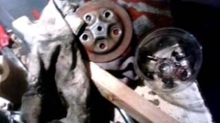 Восстановление двигателя ТМЗ (сцепление)
