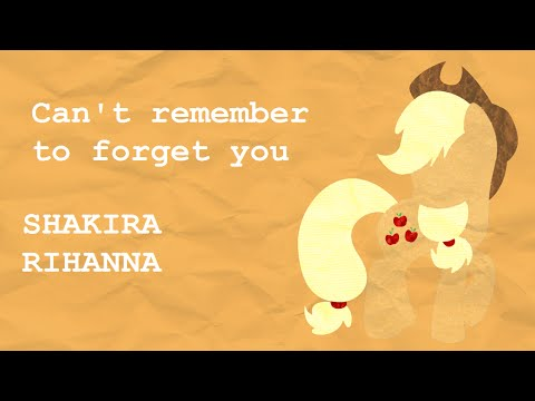Shakira rihanna can remember to forget you pmv