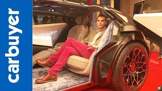 2018 Lagonda Vision Concept walkaround and interior –Geneva Motor Show 2018