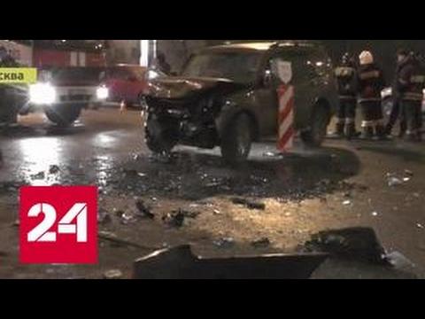 Страшная авария на Крымском мосту: кадры очевидцев