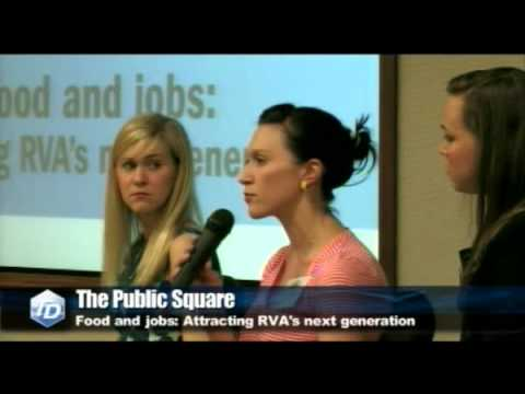 Public Square - Food and jobs: Attracting RVA's next generation