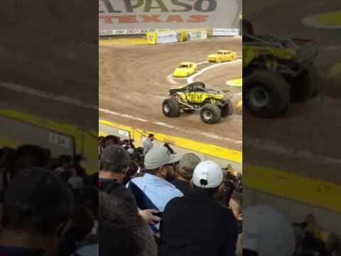 Monster jam wheelie competition-xtreme diesel
