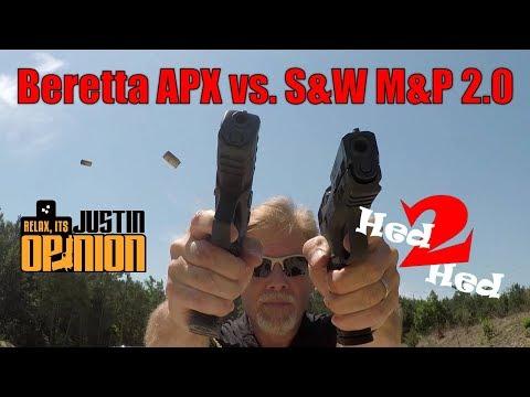 Beretta APX vs M&P 2.0