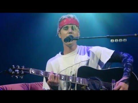 Come Home to Me - Justin Bieber - Purpose Tour Dallas