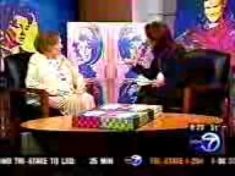 October 2004 - Patricia Neal ABC News Chicago Interview with artist Nicolosi & his Artwork.