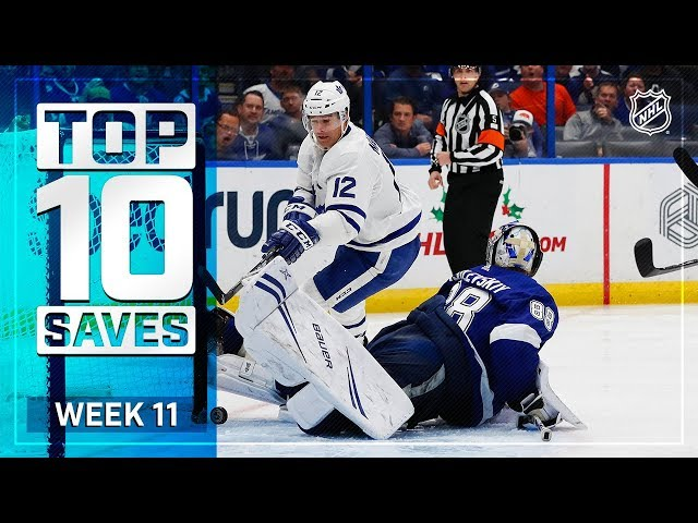 Top 10 Saves from Week 11
