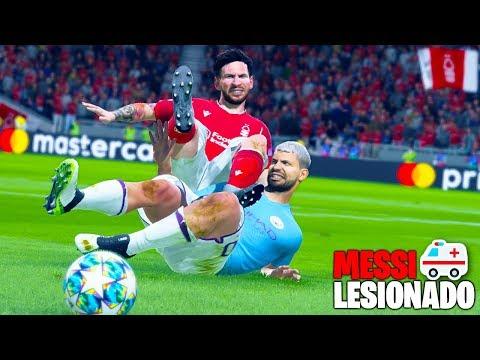Messi es ABUELO se LESIONA 2 veces seguidas !! Modo Carrera sin Presupuesto