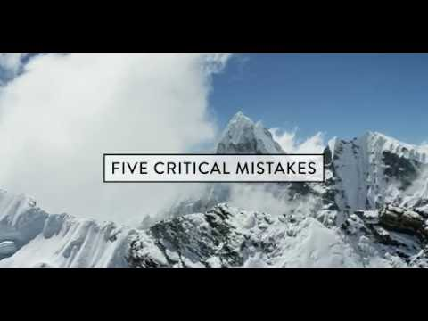 Five Critical Mistakes // The Mountains Are Calling