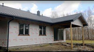 Dom szkieletowy według projektu - Słodki tradycyjny