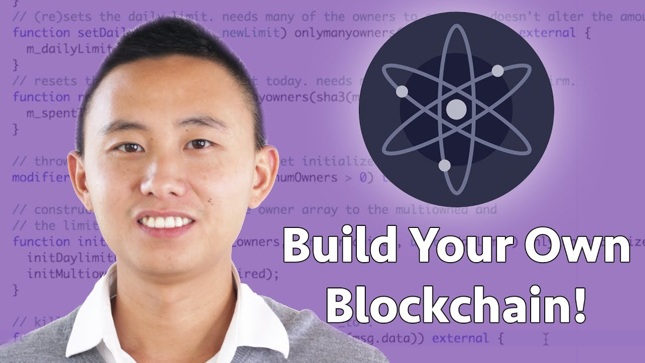 How to Build Your Own Blockchain with Cosmos!
