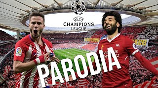 Gambar cover Cancion Atletico Madrid vs Liverpool 1-0 (Parodia Pa' los gustos los colores - Javiielo)