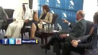 بالفيديو تركي الفيصل ويوسي ألفير مستشار نتنياهو يتآمرون على إيران