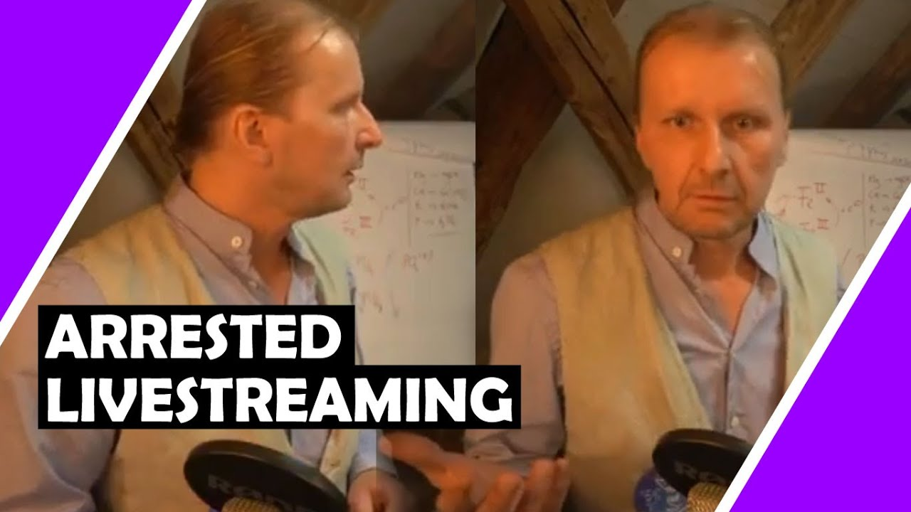 German Doctor ARRESTED During Youtube Livestream At Home #Lockdown #Germany