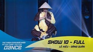Trống Cơm - Lê Hiếu & Đăng Quân // Hiphop - Show 10 - Thử Thách Cùng Bước Nhảy 2016