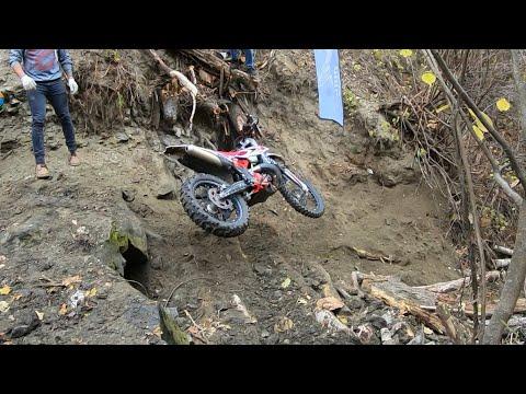 Эндуро гонка «Сурские Зори» в Пензе. Каменный подъем в ущелье. Beta 300 RR.
