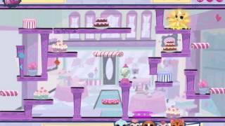 Мультик игра Маленький зоомагазин бродилка (Littlest Pet Shop Russel Up Some Fun)