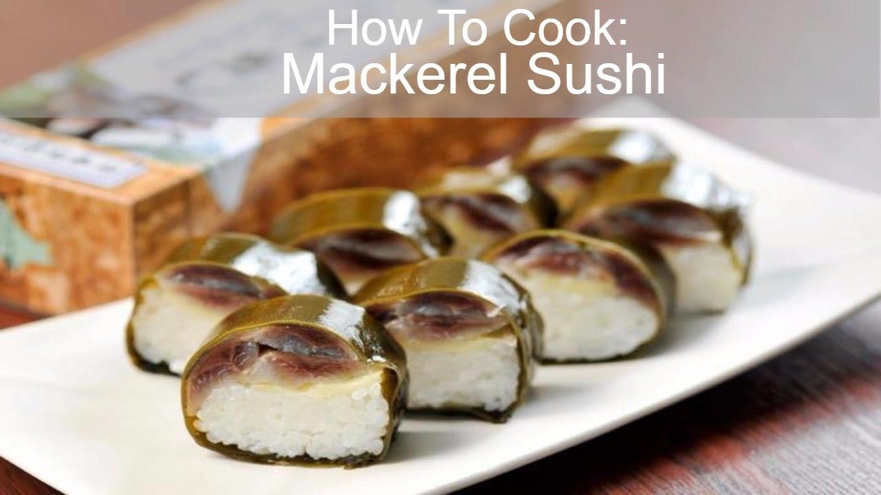 Izuu: Where 230 years of practice makes perfect mackerel ...  Japanese Mackerel Sushi