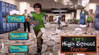 City High School Creepy Teacher: Escape Plan Game